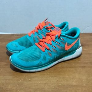 Nike free 5.0 women's running training shoe 8.5